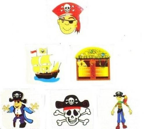 288 Pirate Tattoos