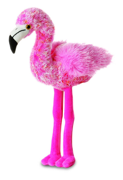 Aurora Mini Flopsies - Flavia Flamingo Soft Toy 20cm