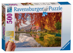 Ravensburger Peaceful Mill Jigsaw Puzzle (500 Extra Large XL Pieces)