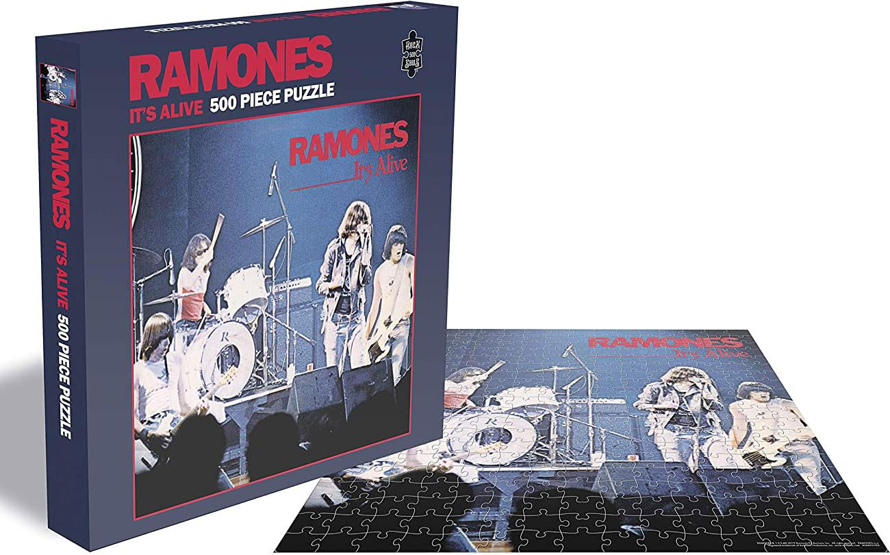 Ramones It's Alive Jigsaw Puzzle (500 Pieces)