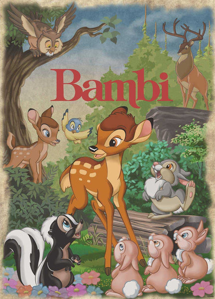 Jumbo Disney Bambi  Jigsaw Puzzle (1000 Pieces)