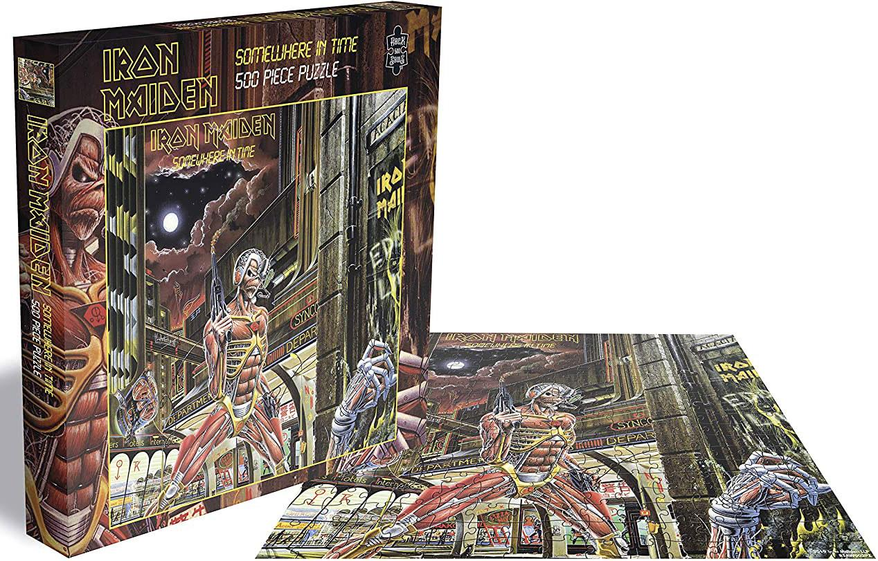Iron Maiden Somewhere In Time Jigsaw Puzzle (500 Pieces)