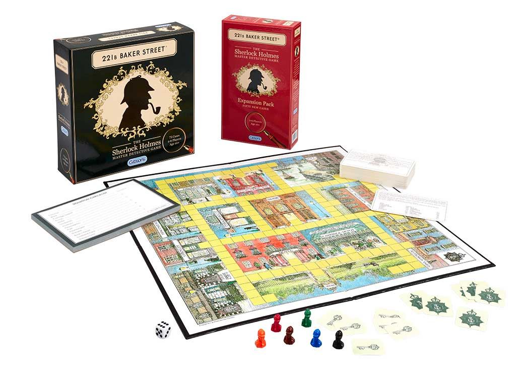 221B Baker Street Expansion Pack (50 New Cases)