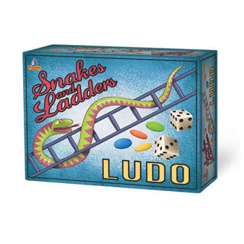Snakes & Ladders and Ludo - Retro