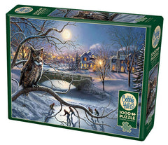 Cobble Hill Edge of Town Jigsaw Puzzle (1000 Pieces)