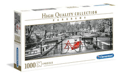 Clementoni Amsterdam Bicycle Panorama High Quality Jigsaw Puzzle (1000 Pieces)