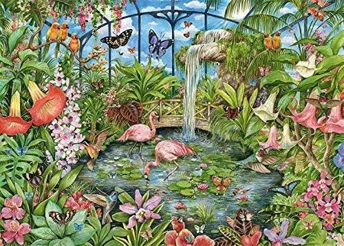 Falcon Deluxe Tropical Conservatory Jigsaw Puzzle (1000 Pieces)