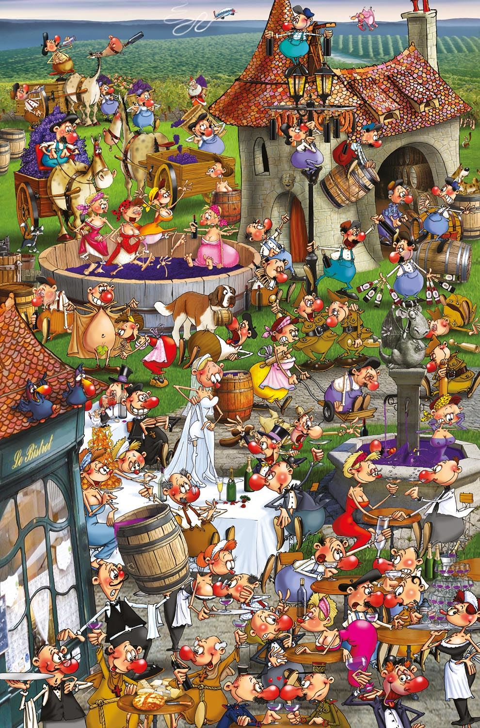 Piatnik Ruyer Story of Wine Jigsaw Puzzle (1000 Pieces)