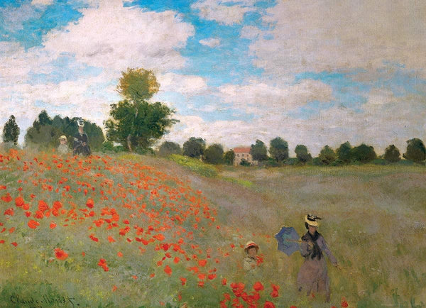 Eurographics The Poppy Field Claude Monet Jigsaw Puzzle (1000 Pieces)