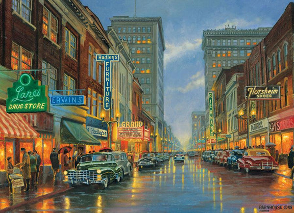 Cobble Hill A Grand Night in Steubenville Jigsaw Puzzle (500 Pieces)