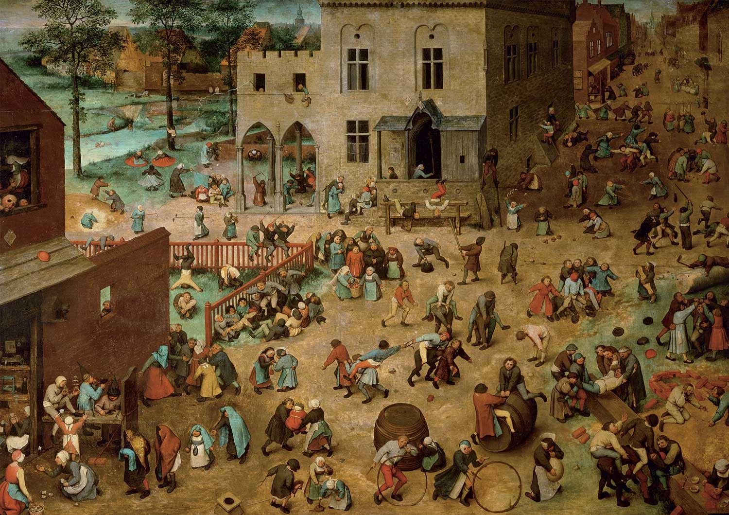 Piatnik Bruegel Children's Games Jigsaw Puzzle (1000 Pieces)