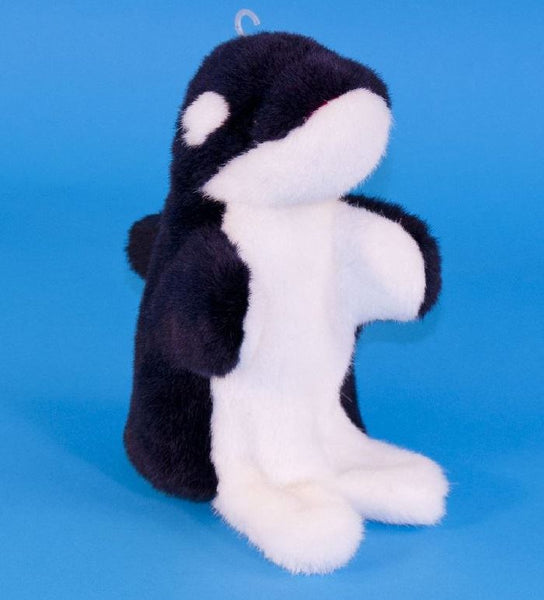 Dowman Whale Hand Puppet Soft Toy 28cm