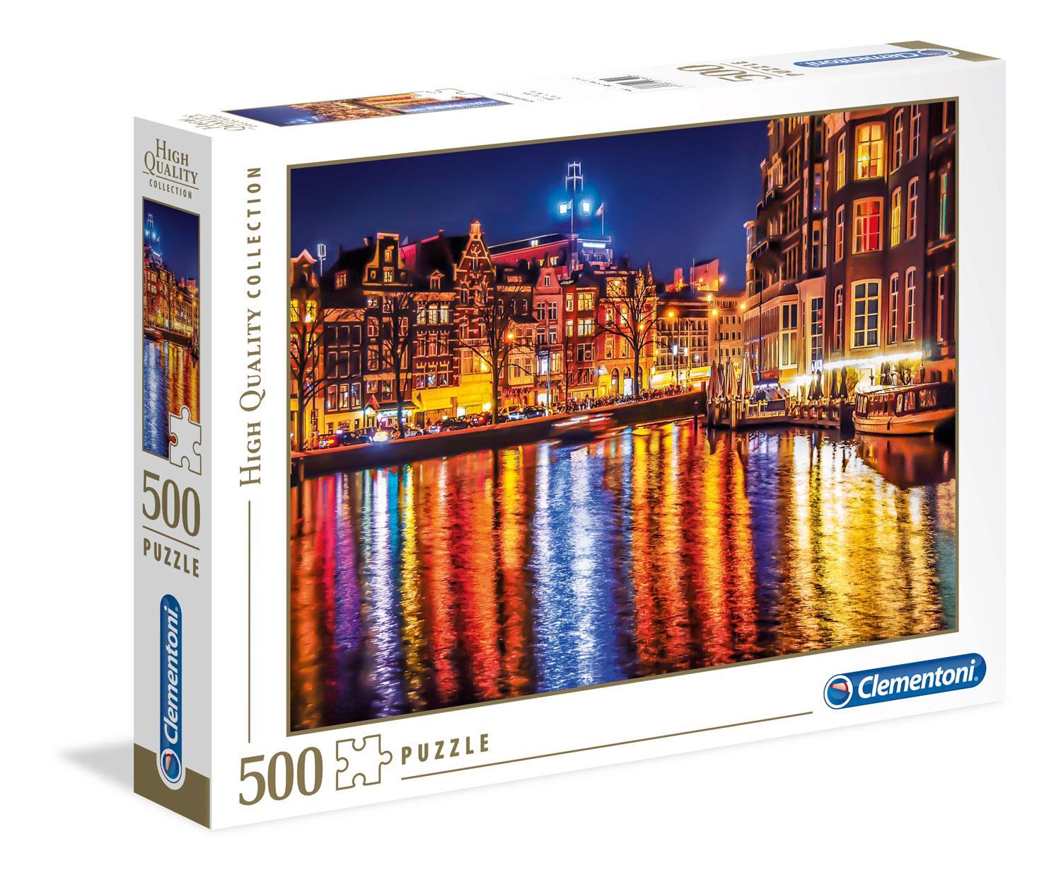 Clementoni Amsterdam High Quality Jigsaw Puzzle (500 Pieces)