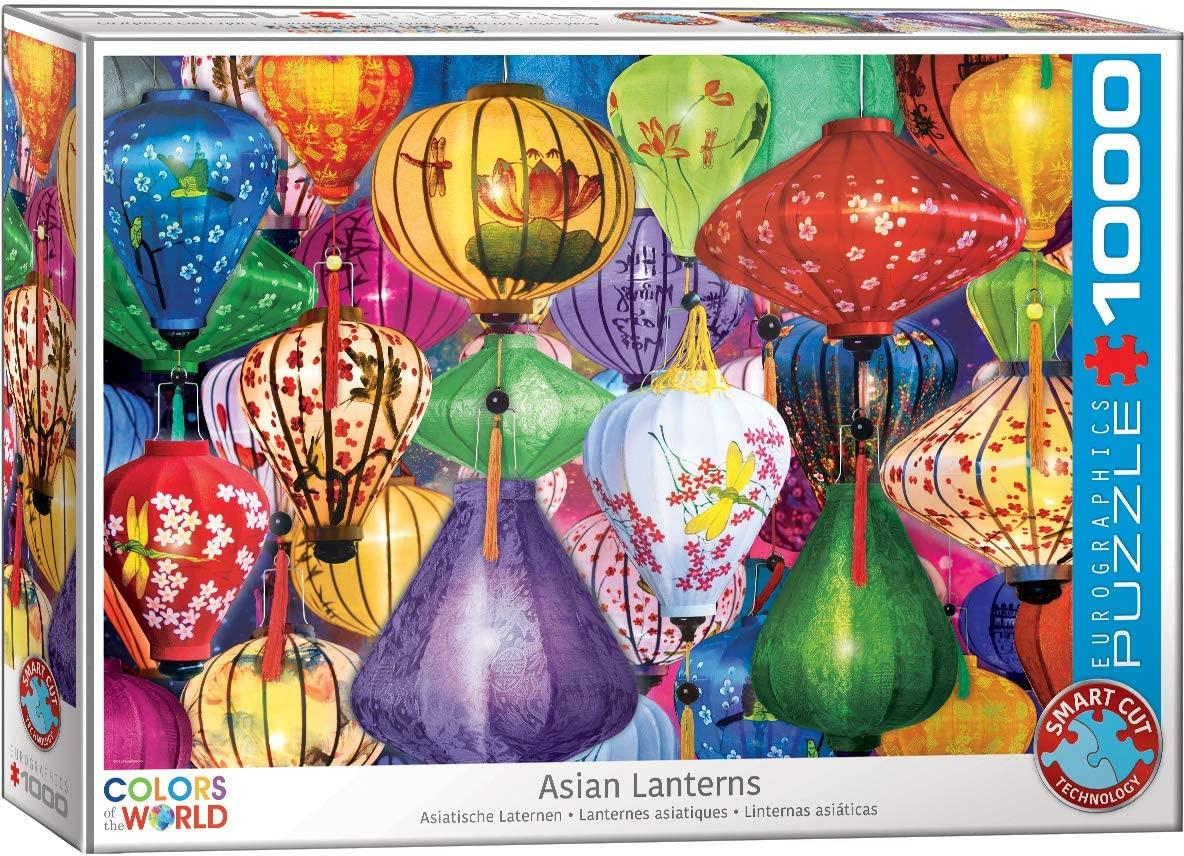 Eurographics Asian Lanterns Jigsaw Puzzle (1000 Pieces)