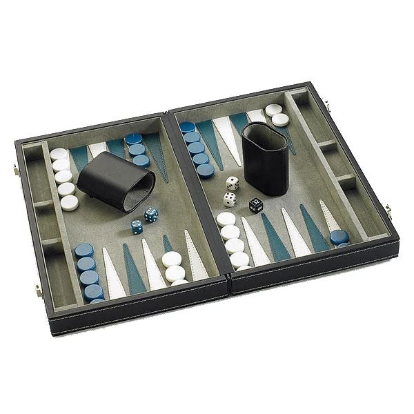 "Gibsons Deluxe 15"" Backgammon Set"