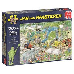 Jan Van Haasteren The Film Set Jigsaw Puzzle (1000 Pieces)