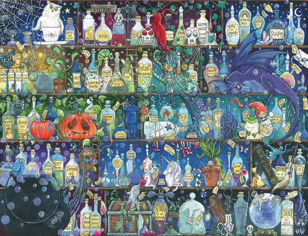 Ravensburger Poisons And Potions Jigsaw Puzzle (2000 Pieces)