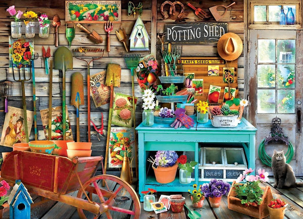 Eurographics The Potting Shed Jigsaw Puzzle (1000 Pieces)