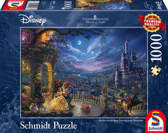 Schmidt Kinkade: Disney The Beauty & the Beast Jigsaw Puzzle (1000 pieces)