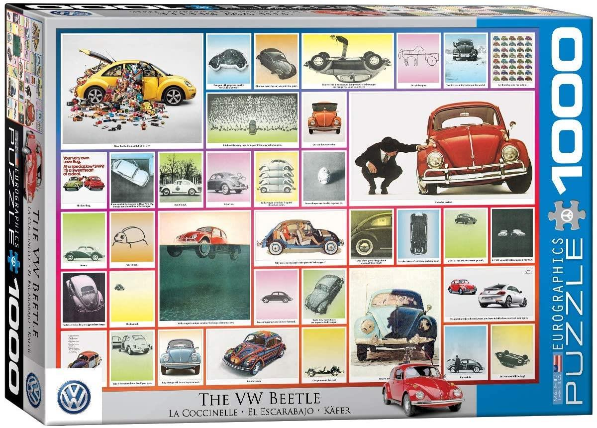 Eurographics VW Beetle Jigsaw Puzzle (1000 Pieces)