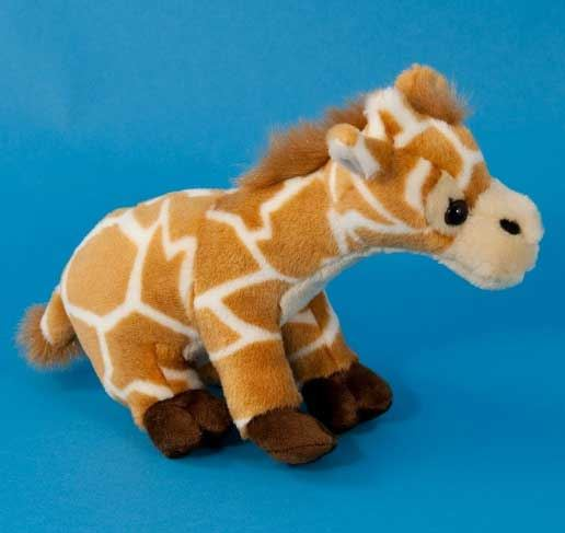 Dowman Sitting Giraffe Soft Toy 25cm