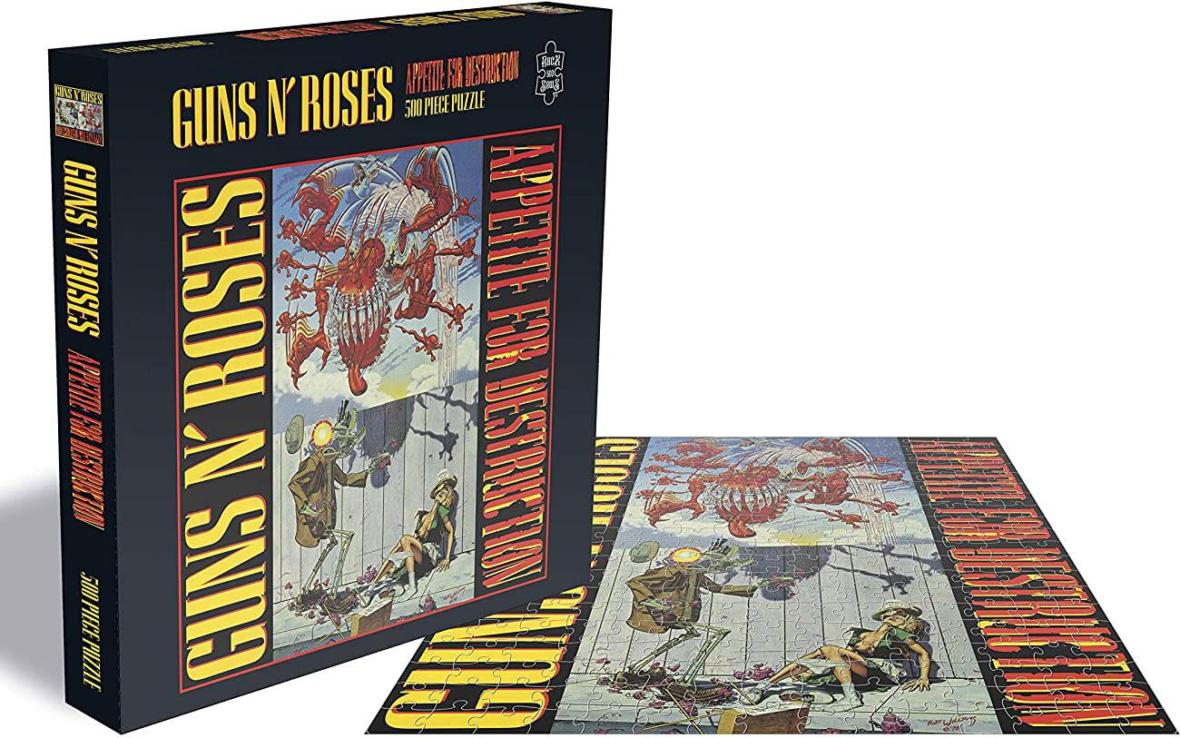 Guns N'Roses Appetite For Destruction 1 Jigsaw Puzzle (500 Pieces)