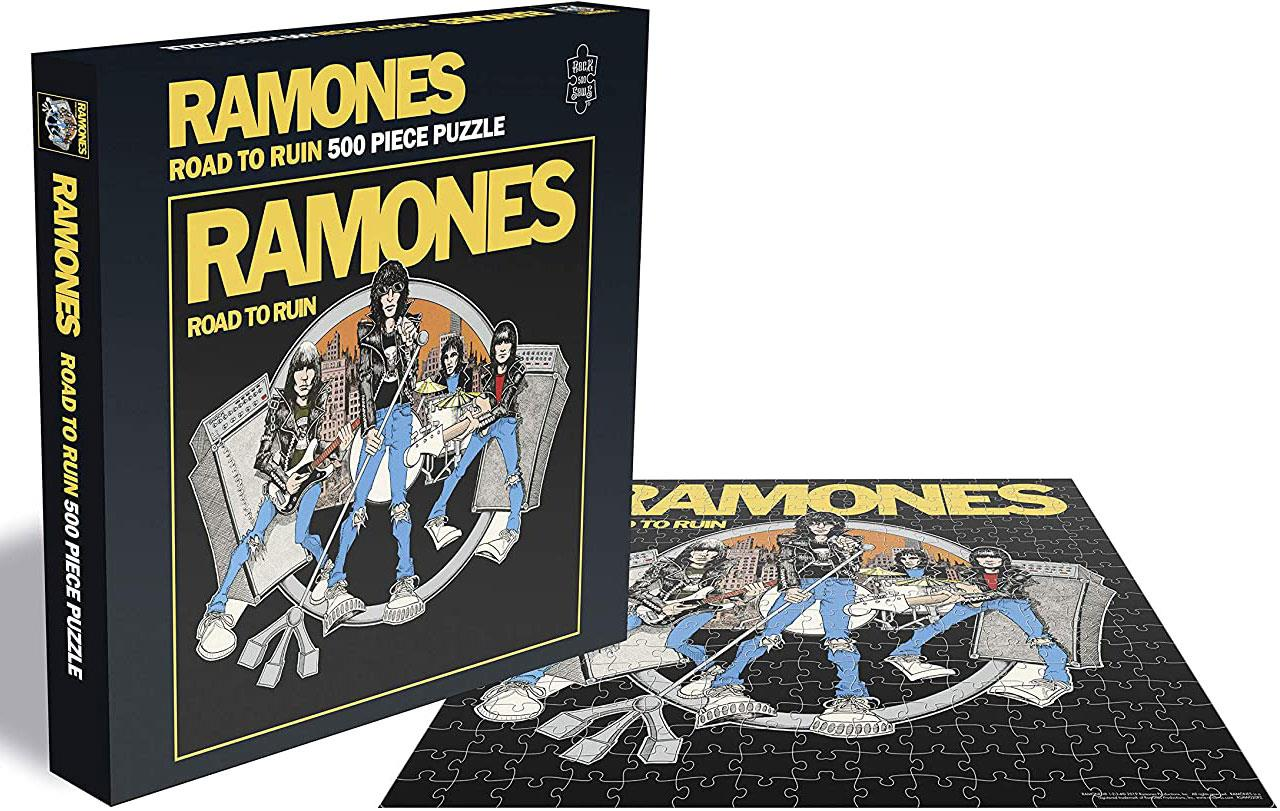 Ramones Road To Ruin Jigsaw Puzzle (500 Pieces)