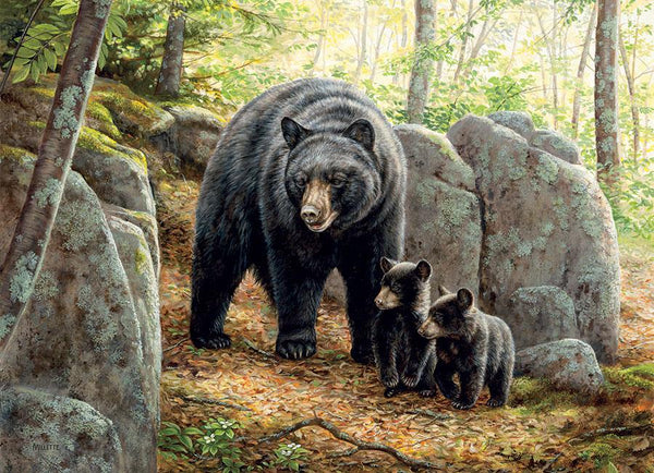 Cobble Hill Mama Bear Jigsaw Puzzle (1000 Pieces)