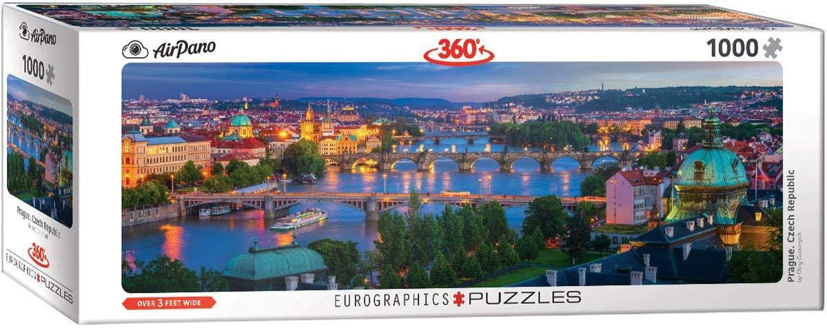 Eurographics Prague Panorama Jigsaw Puzzle (1000 Pieces)