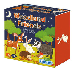 Gibsons Woodland Friends Jigsaw Puzzles (8 x 2 Pieces)