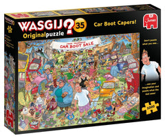 Wasgij Original 35 Car Boot Capers Jigsaw Puzzle (1000 Pieces)