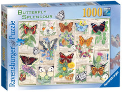 Ravensburger Butterfly Splendours Jigsaw Puzzle (1000 Pieces)