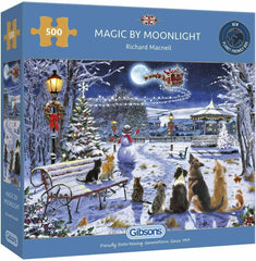 Gibsons Magic by Moonlight Jigsaw Puzzle (500 Pieces)