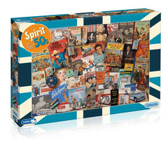 Gibsons Spirit of the 50s Jigsaw Puzzle (1000 Pieces)