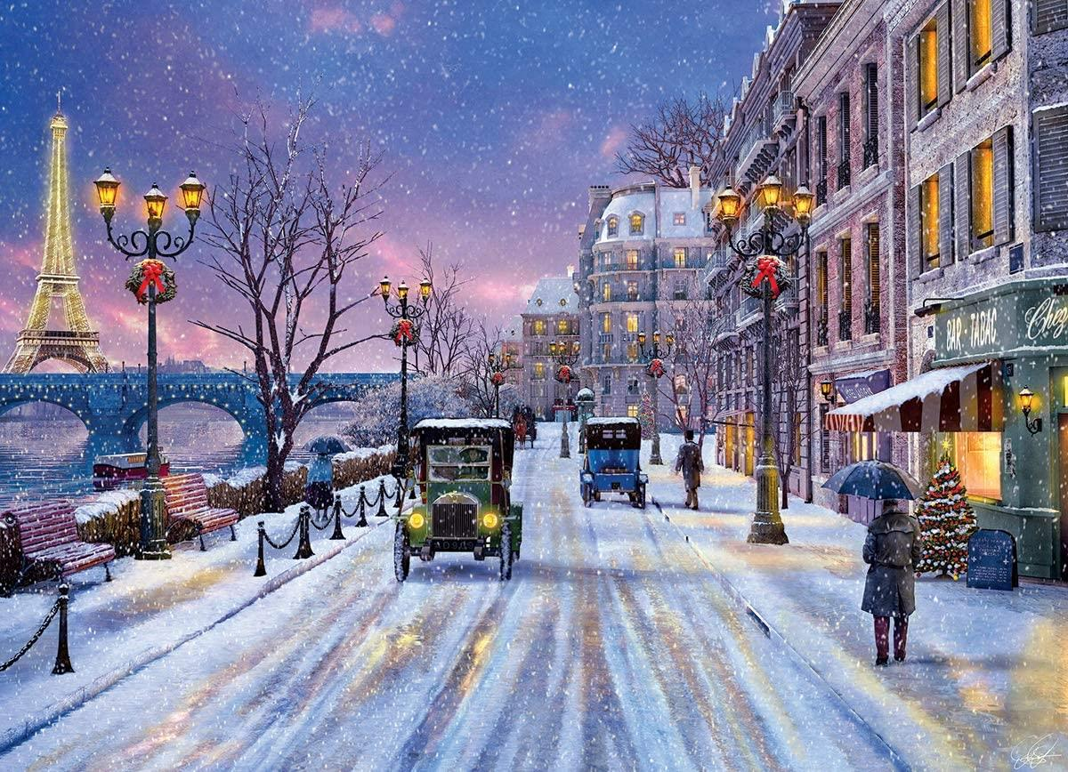 Eurographics Christmas Eve in Paris Jigsaw Puzzle (1000 Pieces)