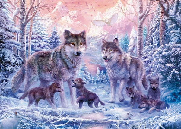 Ravensburger Arctic Wolves Jigsaw Puzzle (1000 Pieces)