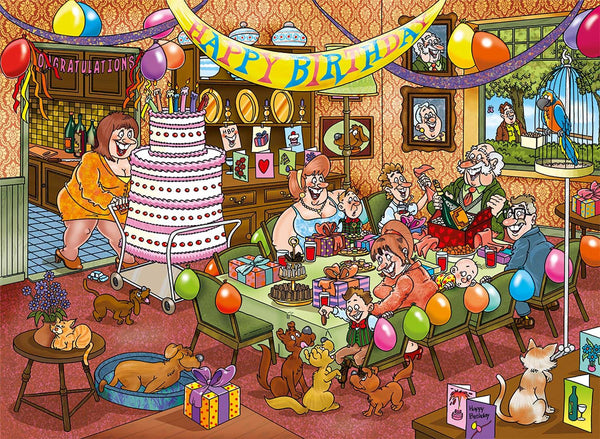 Wasgij Mystery 16 Birthday Surprise Jigsaw Puzzle (1000 pieces)