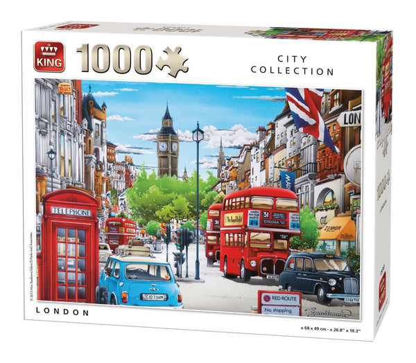 King London Jigsaw Puzzle (1000 Pieces)