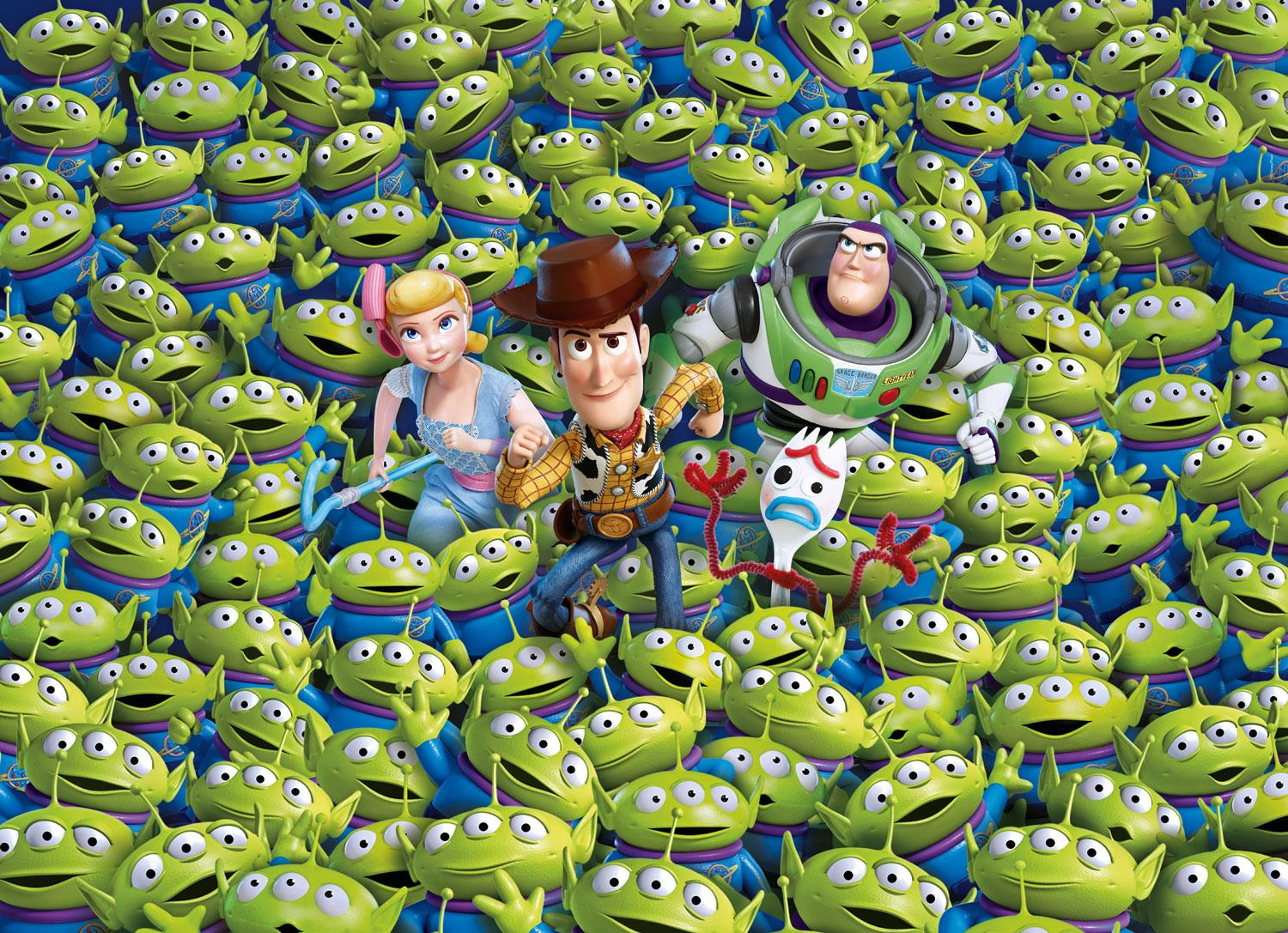 Clementoni Impossible Toy Story 4 High Quality Jigsaw Puzzle (1000 Pieces)