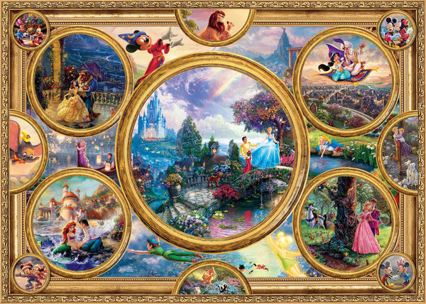 Schmidt Kinkade: Disney Dreams Collection Jigsaw Puzzle (2000 pieces)