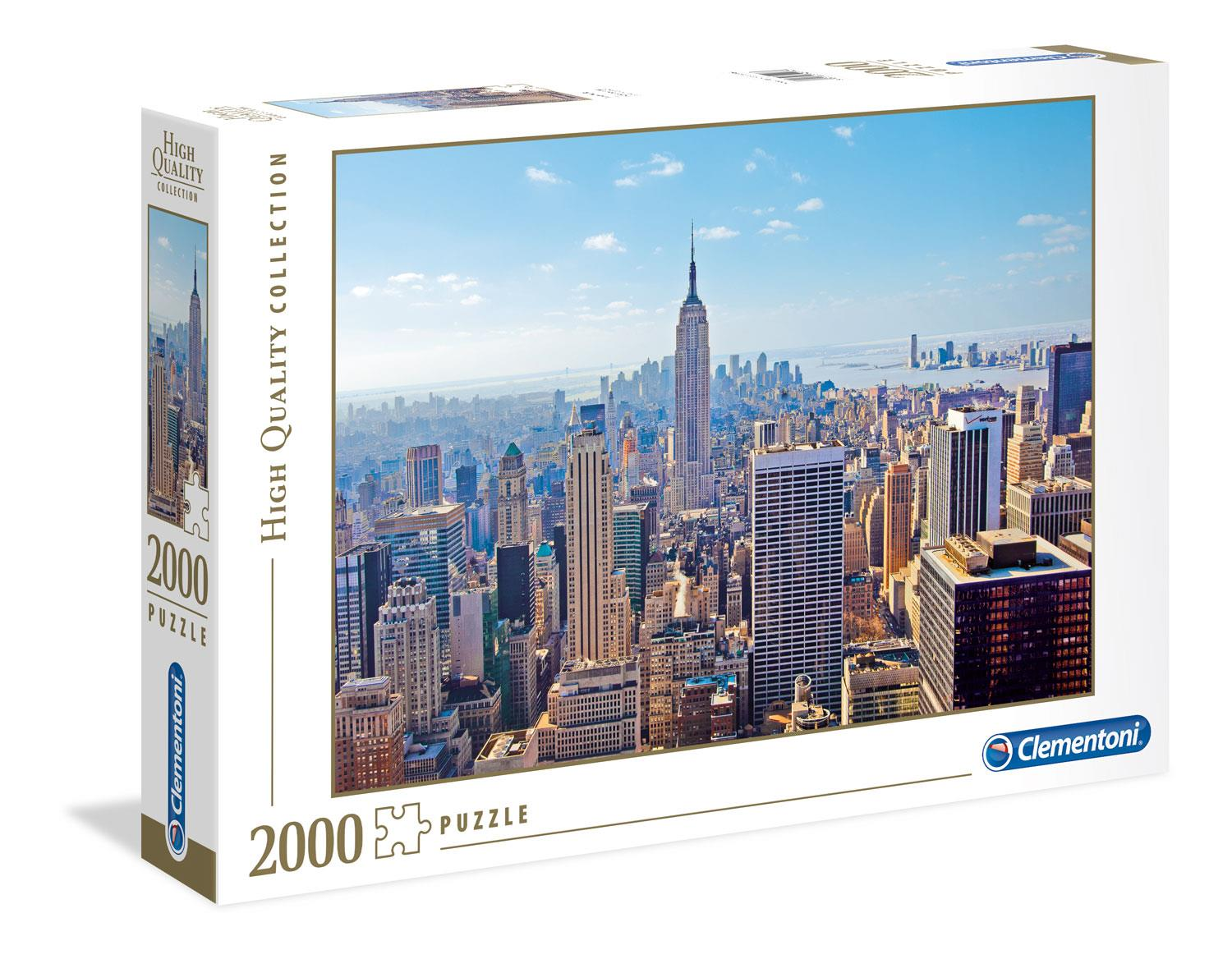 Clementoni New York High Quality Jigsaw Puzzle (2000 Pieces)