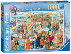 Ravensburger Best of British - The Charity Shop Jigsaw Puzzle (1000 Pieces)
