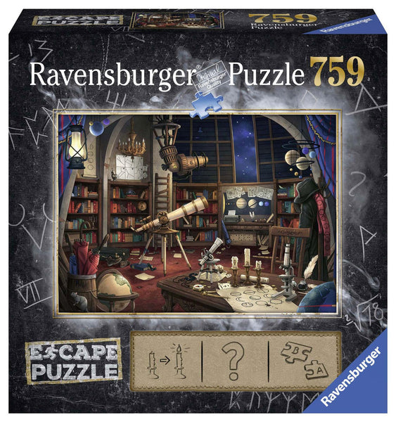 Ravensburger Escape Space Observatory Jigsaw Puzzle (759 Pieces)