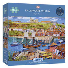 Gibsons Endeavour, Whitby Jigsaw Puzzle (1000 Pieces)