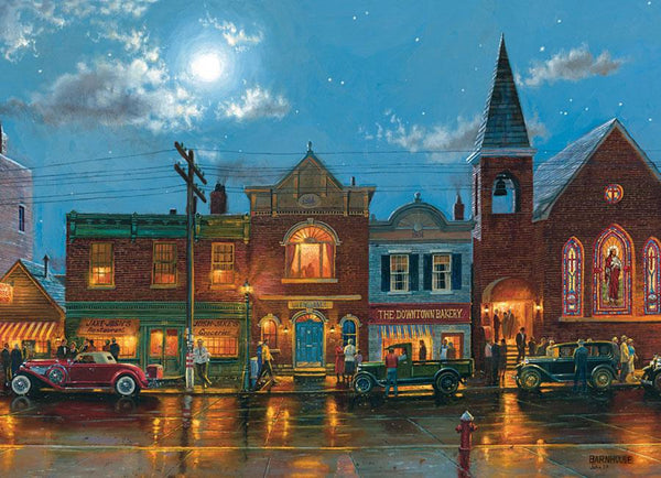 Cobble Hill Evening Service Jigsaw Puzzle (1000 Pieces)