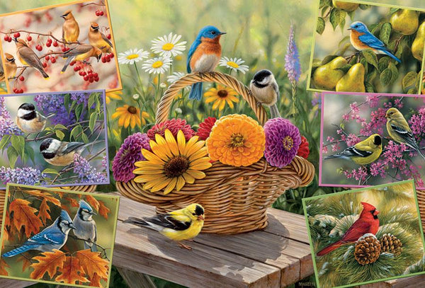 Cobble Hill Rosemary's Birds Jigsaw Puzzle (2000 Pieces)