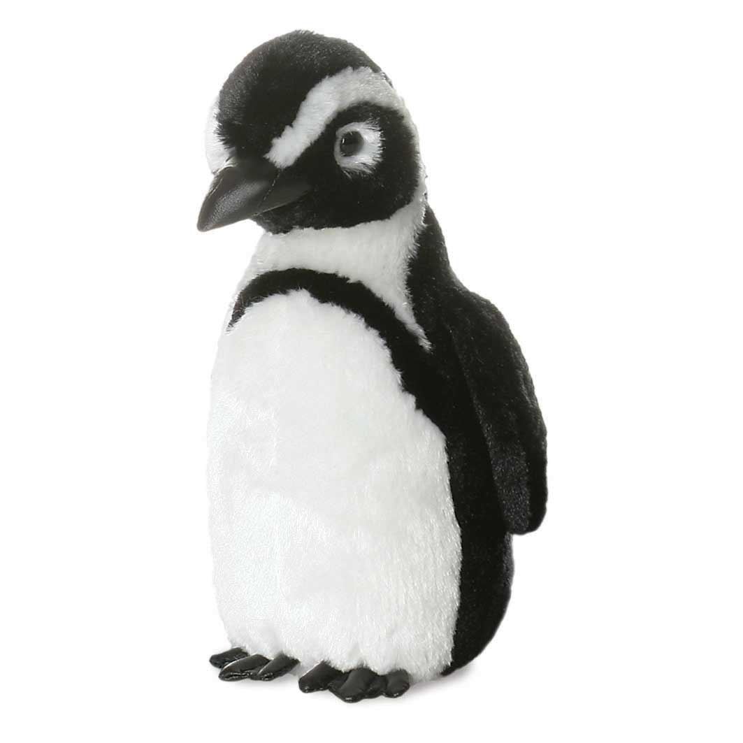 Aurora Mini Flopsies - African Penguin Soft Toy 20cm