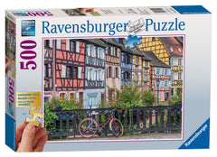 Ravensburger Colmar France Jigsaw Puzzle (500 XL Extra Large Pieces)