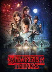 Clementoni Stranger Things 1 Jigsaw Puzzle (1000 Pieces)