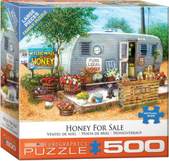 Eurographics Honey for Sale Jigsaw Puzzle (500 XL Large Pieces)